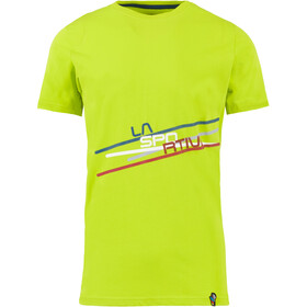 La Sportiva Stripe 2.0 T-Shirt Homme, apple green